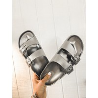 Silver Crush Sandals