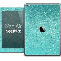 The Turquoise Mosaic V1 Skin for the iPad Air, iPad Mini, iPad 1st, 2nd, 3rd or 4th Generation