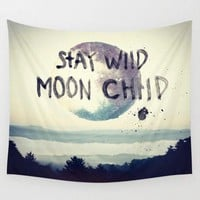 Stay Wild Moon Child Tapestry 60x80
