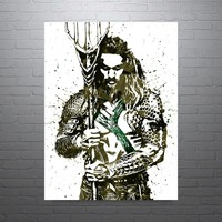 Batman v Superman Aquaman Poster
