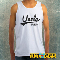 Uncle Since 2014 Clothing Tank Top For Mens