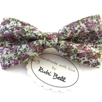 Bow Tie - multicolored bow tie - man bow tie - men bow tie - gifts for him - wedding bow tie