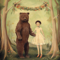 In the Spring, She Married a Bear / Large Print 11x14