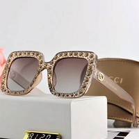 Gucci 2018 counter new fashion beautiful colorful polarized sunglasses F-A-SDYJ NO.2