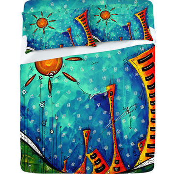 DENY Designs Home Accessories | Madart Inc. Funky Town Sheet Set Sale Item