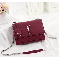 ysl women leather shoulder bags satchel tote bag handbag shopping leather tote crossbody satchel shouder bag 103