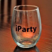 iParty Stemless Wine Glass