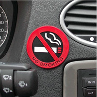New hot selling car styling No smoking logo stickers car stickers