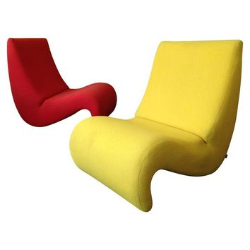 Pre-owned Amoebe Chairs by Verner Panton