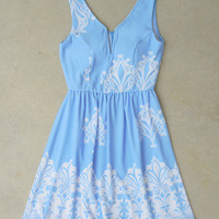 Periwinkle in July Dress [7364] - $26.60 : Feminine, Bohemian, & Vintage Inspired Clothing at Affordable Prices, deloom
