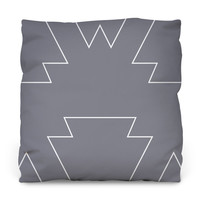 Tribal Chic Throw Pillow