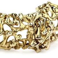 Low Luv by Erin Wasson Bone Armor Ring