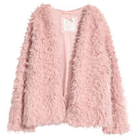 Faux Fur Jacket - from H&M
