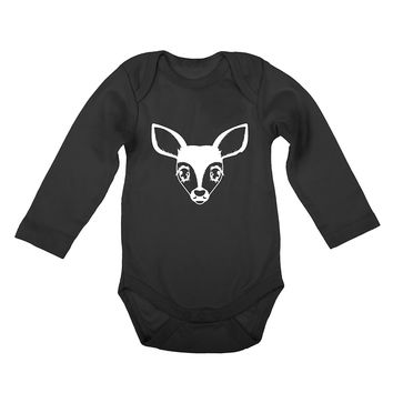 Fawn Face Long Sleeve Onesuit