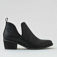 AEO Cutout Ankle Bootie, Black