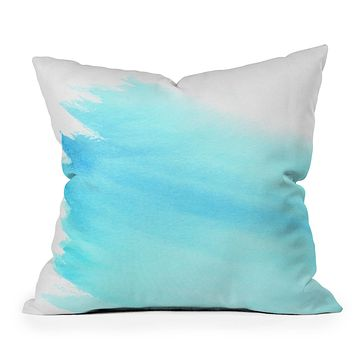 Wonder Forest Sky to Sea Outdoor Throw Pillow