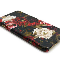 Floral iphone 6 case rose iphone 6 plus case flower iphone 5S case galaxy s6 edge iphone 4 4S case / / galaxy s6 S5 LG G3 G4 Sony Xperia Z3