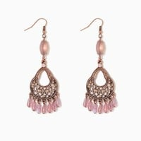 Dava Chandelier Earrings | Fashion Jewelry - Neutral Table | charming charlie