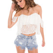 In The West Lace Crop Top