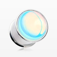 zzz-A Pair of Iridescent Revo Double Flared Ear Plug