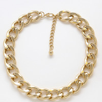 Chains Up Gold Necklace