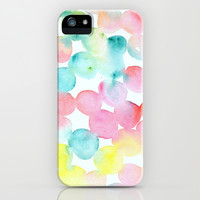 Abstract Watercolor Dots iPhone & iPod Case by Wildhumm   Society6