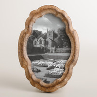 Oval Scalloped Amelia Frame - World Market
