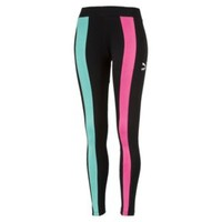 Classics T7 Women's Leggings | Cotton Black-(chase) | PUMA Sale | PUMA United Kingdom