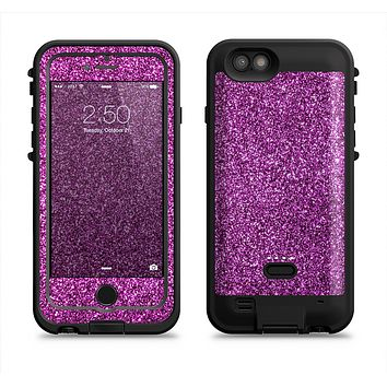 The Purple Glitter Ultra Metallic  iPhone 6/6s Plus LifeProof Fre POWER Case Skin Kit
