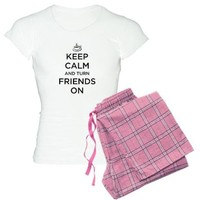 Turn Friends On Women's Light Pajamas on CafePress.com