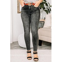 Just Be You High Waisted Ankle Skinny Jeans