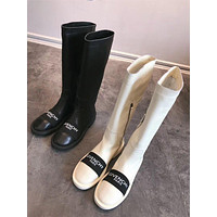 Givenchy Paris Leather Boots #1002