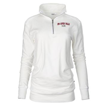 Official NCAA U of Wisconsin-River Falls - RYLWRU07 Unisex 1/4 Zip Up Fleece Pullover