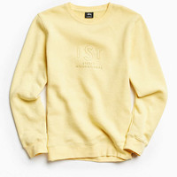 Stussy First Embroidered Crew Neck Sweatshirt - Urban Outfitters