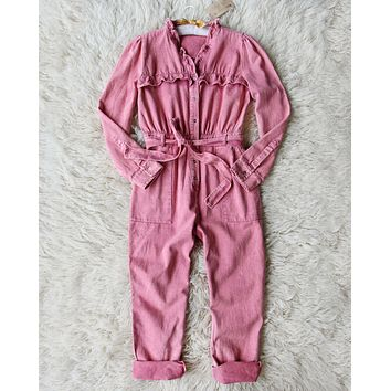 Edelweiss Ruffle Coveralls