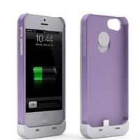 Maxboost iPhone 5S Case / iPhone 5 Case [Fusion Snap-On Case Series - Purple] Premium Coated Protective Hard Case for iPhone 5S / iPhone 5 (Fits All Versions of iPhone 5S & iPhone 5, AT&T, Verizon, Sprint)