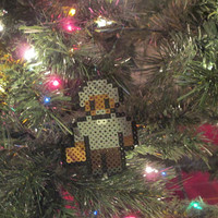 Firefly, Serenity Inspired Shepherd Book Bead Sprite Magnet, Wall Decor, or Ornament