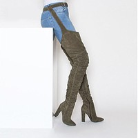 New Fashion Women Winter over knee long Boots