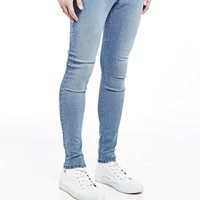 Cheap Monday Low Spray Jeans in Super-Skinny Fit Light Blue