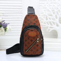 Women Fashion Leather Chest Bag Crossbody Bag Shoulder Bag