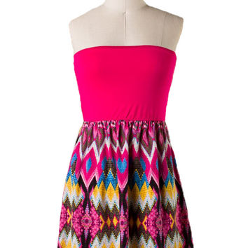 Lucy's Dream Dress in Fuchsia