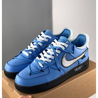 Nike AirForce 1 x OFF WHITE MCA early adopters shipped, Air Force One joint name