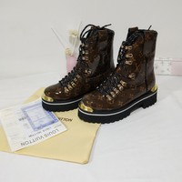 LV Louis Vuitton Women Casual Fashion Martin Boots Shoes