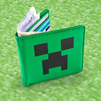 Minecraft Wallet at Firebox.com