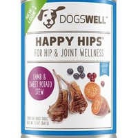 Dogswell Happy Hips Lamb/Sweet Potato Stew Dog Can 12/13 oz