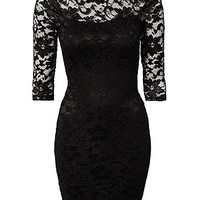 Amazing Lace Back Dress, John Zack