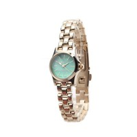 Petite Mint and Gold Classic Watch @ Inspired Silver