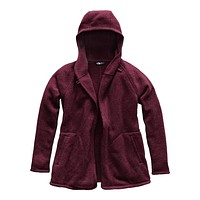 Women's Crescent Wrap in Fig Heather by The North Face