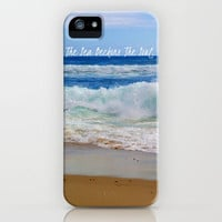 The Sea Beckons The Soul iPhone Case by Josrick | Society6