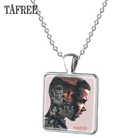 TAFREE Stranger Things Pendants Necklace Trendy Fashion Statement Necklaces Choker Pendants For Men Women Jewelry Pendants QF156